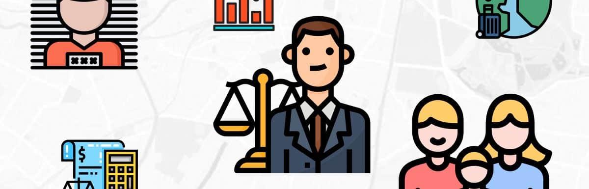 Statistiques de recherches en ligne pour avocats au Québec (2020)
